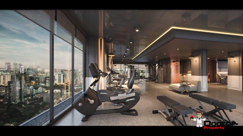 Apartment_for_sale_Chapter_Chula–Samyan_Bangkok_gym