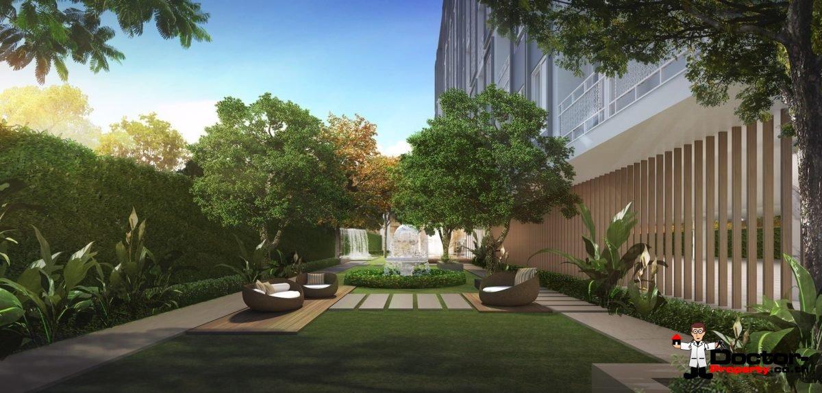 Apartment_for_sale_The_Elegant_Ladprao1_Bangkok_garden