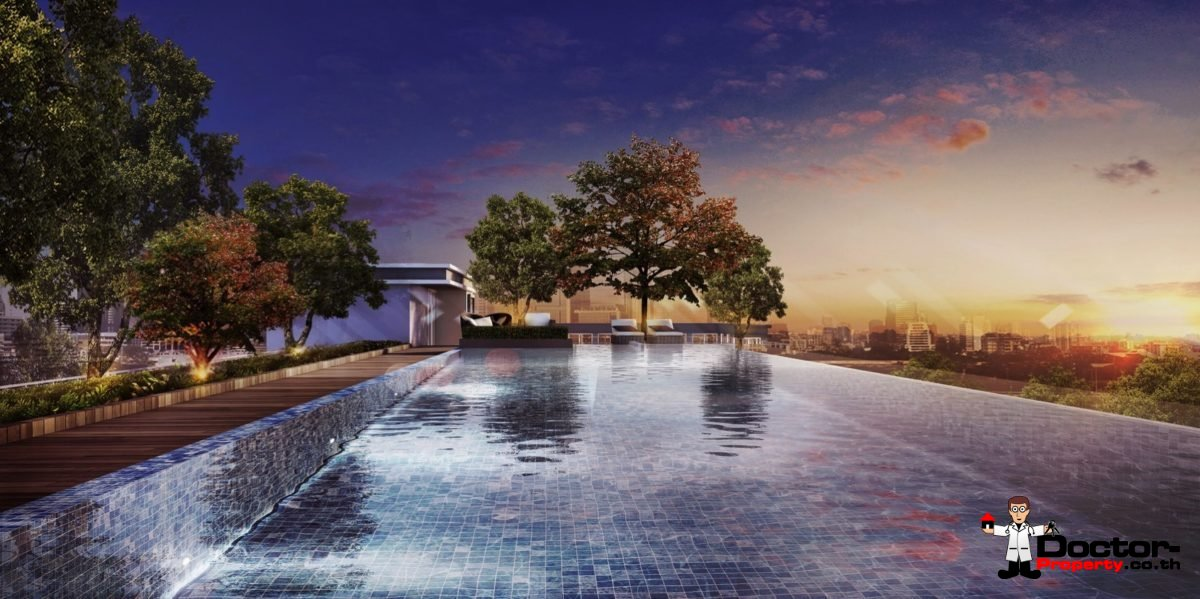 Apartment_for_sale_The_Elegant_Ladprao1_Bangkok_pool
