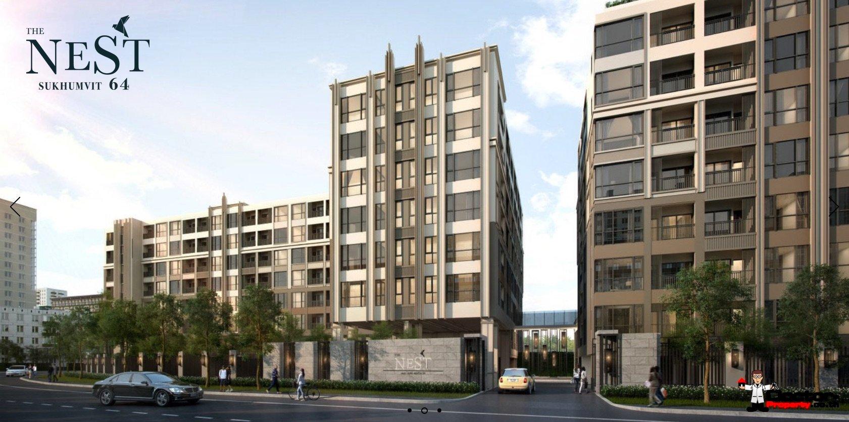 New 1 Bed Apartment - The Nest Sukhumvit 64 - Bangkok for ...