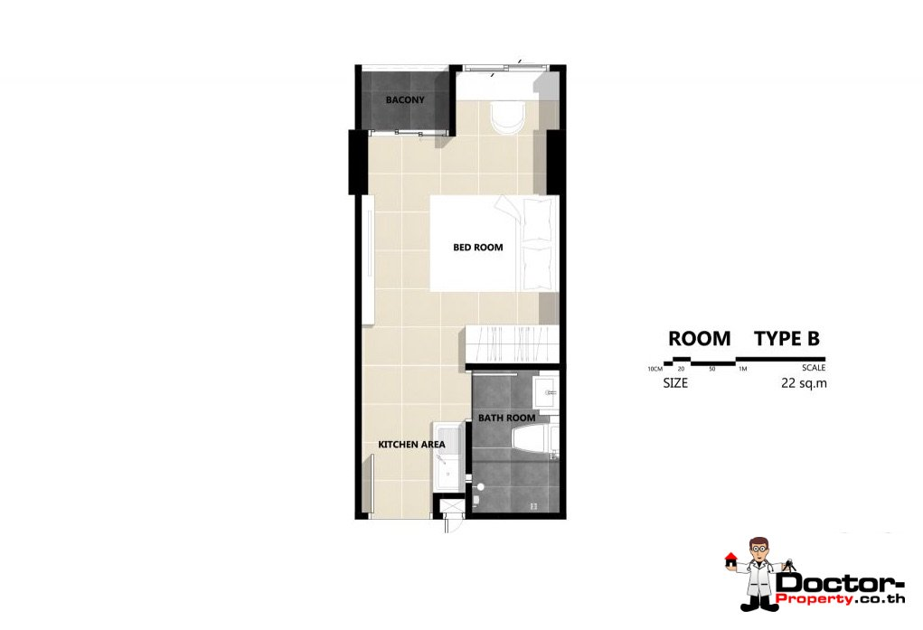Apartment_for_sale_The_Series_Tiwanon_Bangkok_floorplan