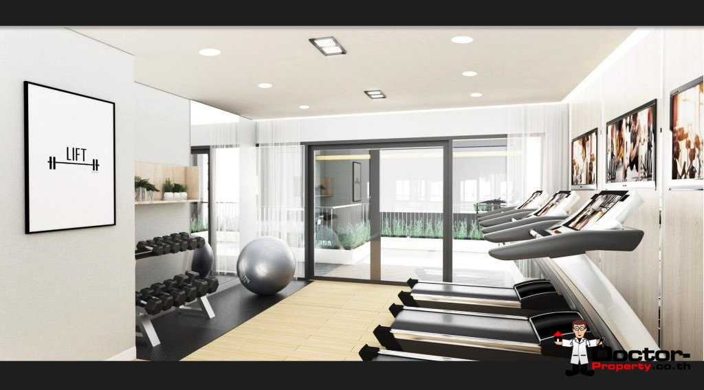 Apartment_for_sale_The_Series_Tiwanon_Bangkok_gym