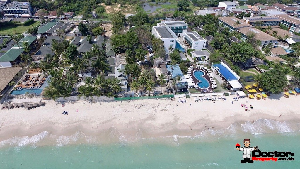 2.8 Rai of Prime Beachfront Land - Chaweng, Koh Samui - For Sale