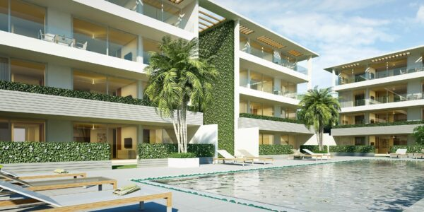 New 2 Bedroom Beachside Apartments - Bang Rak, Koh Samui - For Sale