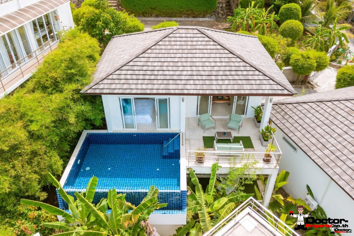 Sea View 3 Bed Villa - Chaweng Hills - Koh Samui - for sale 3