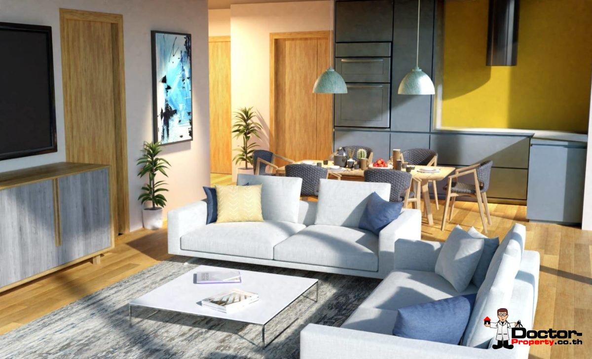 New 2 Bedroom Apartment with Sea View - Bang Por - Koh Samui 1
