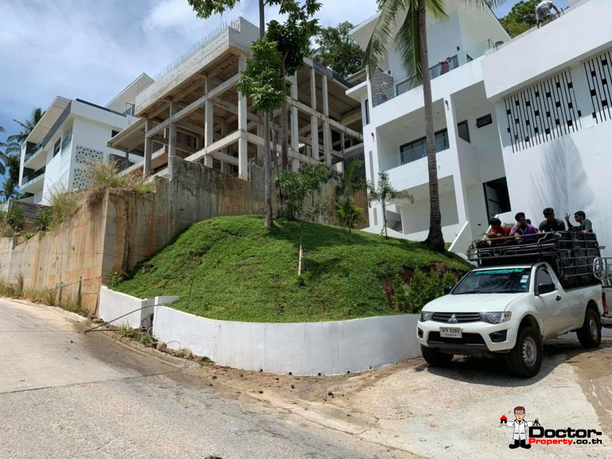 New 3 Bed Villa with Sea View - Chaweng Noi - Koh Samui _1