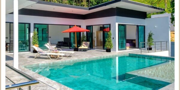 Sea View Poolvilla 4 Bedroom - Lamai Beach - Koh Samui