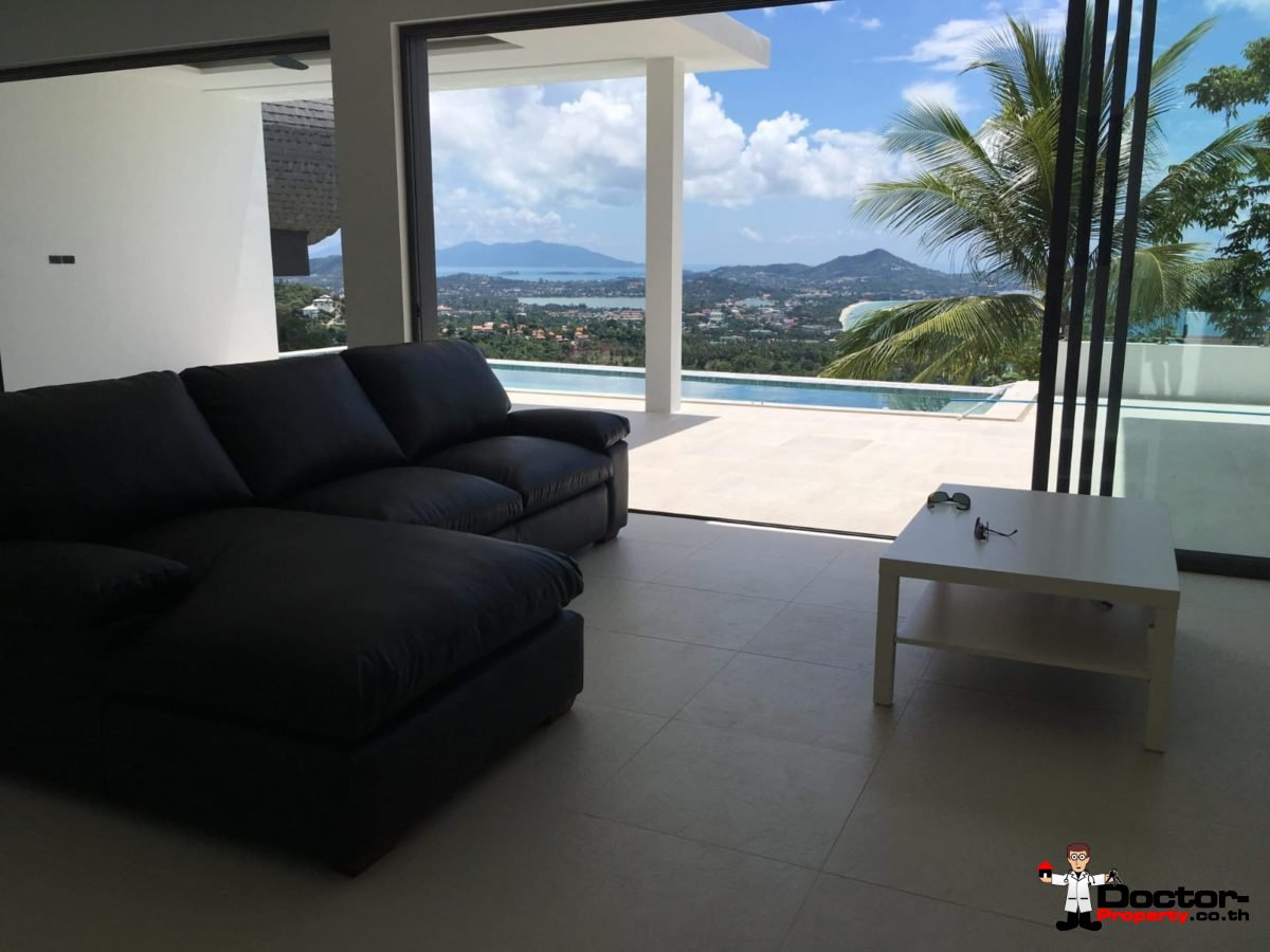New 3 Bed Villa with Sea View - Chaweng Noi - Koh Samui _9