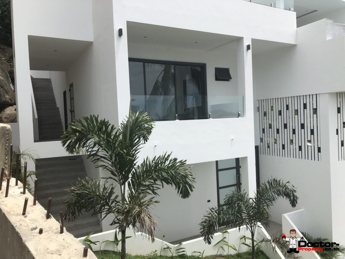 New 3 Bed Villa with Sea View - Chaweng Noi - Koh Samui _4