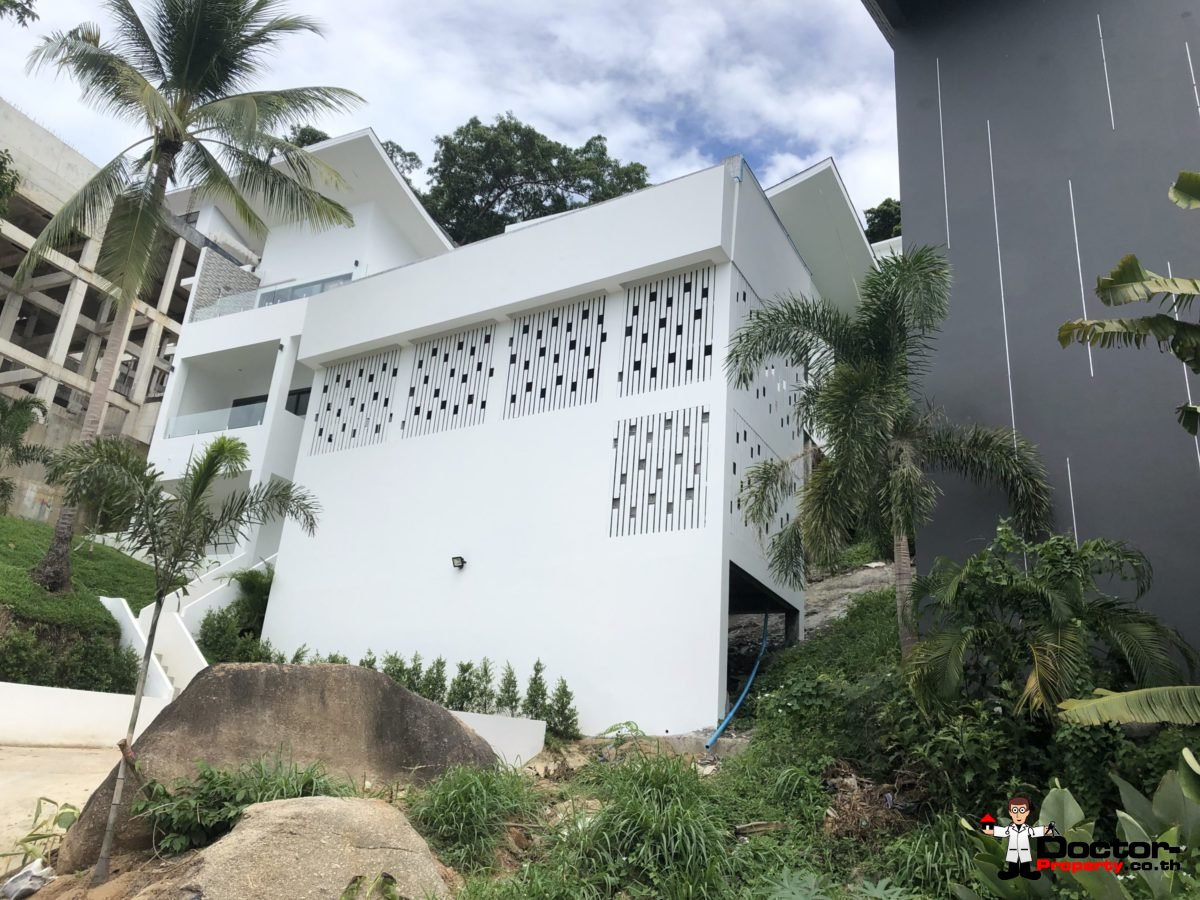 New 3 Bed Villa with Sea View - Chaweng Noi - Koh Samui _5