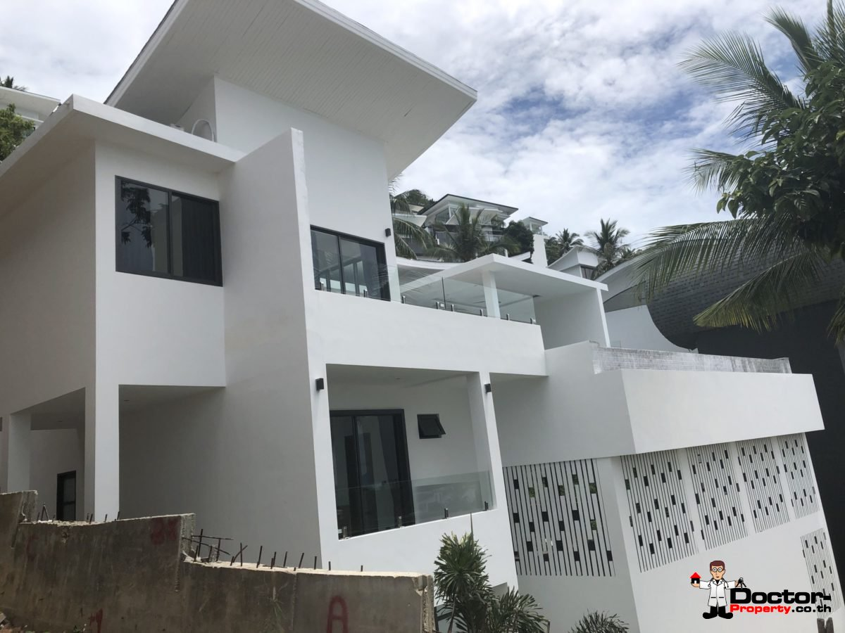 New 3 Bed Villa with Sea View - Chaweng Noi - Koh Samui