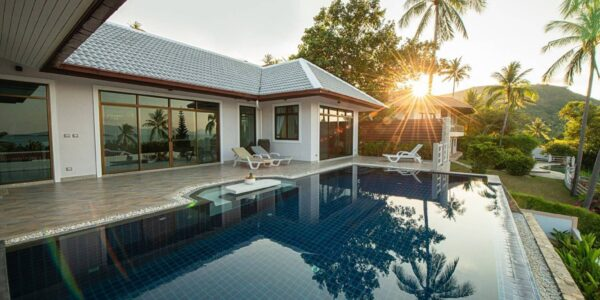 Sea View Pool Villa (3 Bed) - Bang Rak - Koh Samui for sale 1