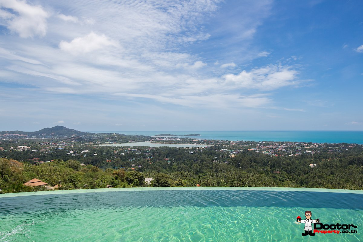 3 Bedroom Villa in the Mountains of Chaweng Noi - Koh Samui - for sale