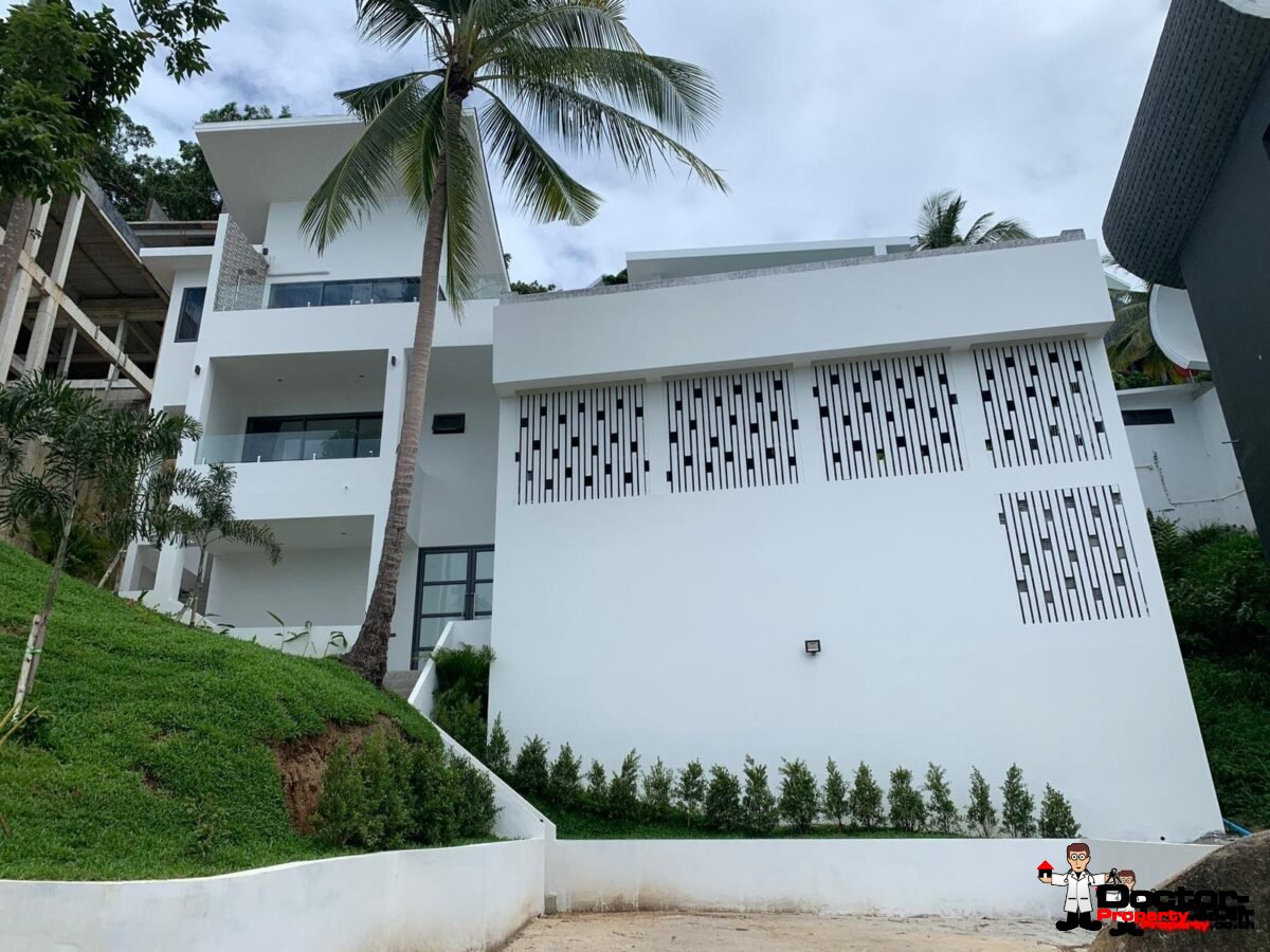 New 3 Bed Villa with Sea View - Chaweng Noi - Koh Samui _23