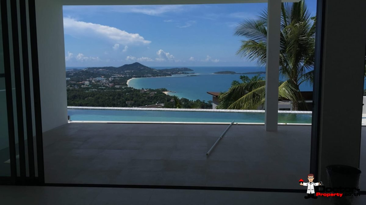 New 3 Bed Villa with Sea View - Chaweng Noi - Koh Samui _16