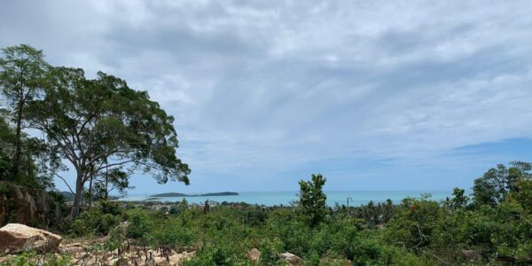 Sea View Land in Chaweng Hills - Koh Samui - for sale