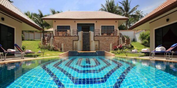 3 Bedroom Poolvilla in Bang Rak - Koh Samui - for sale