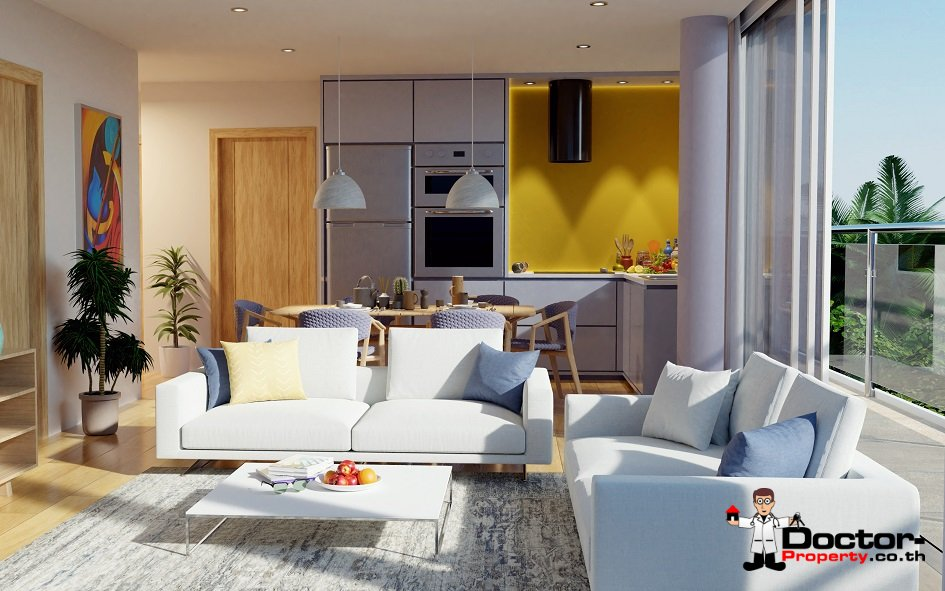 New 2 Bedroom Apartment with Sea View - Bang Por - Koh Samui 3