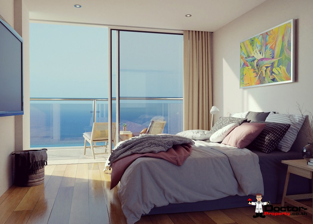 New 2 Bedroom Apartment with Sea View - Bang Por - Koh Samui 7