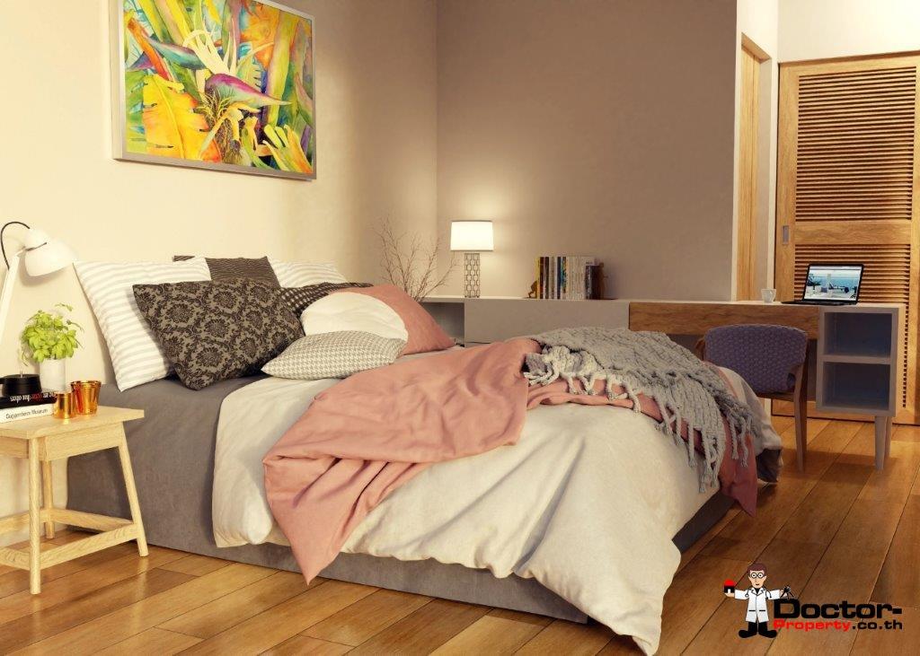 New 2 Bedroom Apartment with Sea View - Bang Por - Koh Samui 6