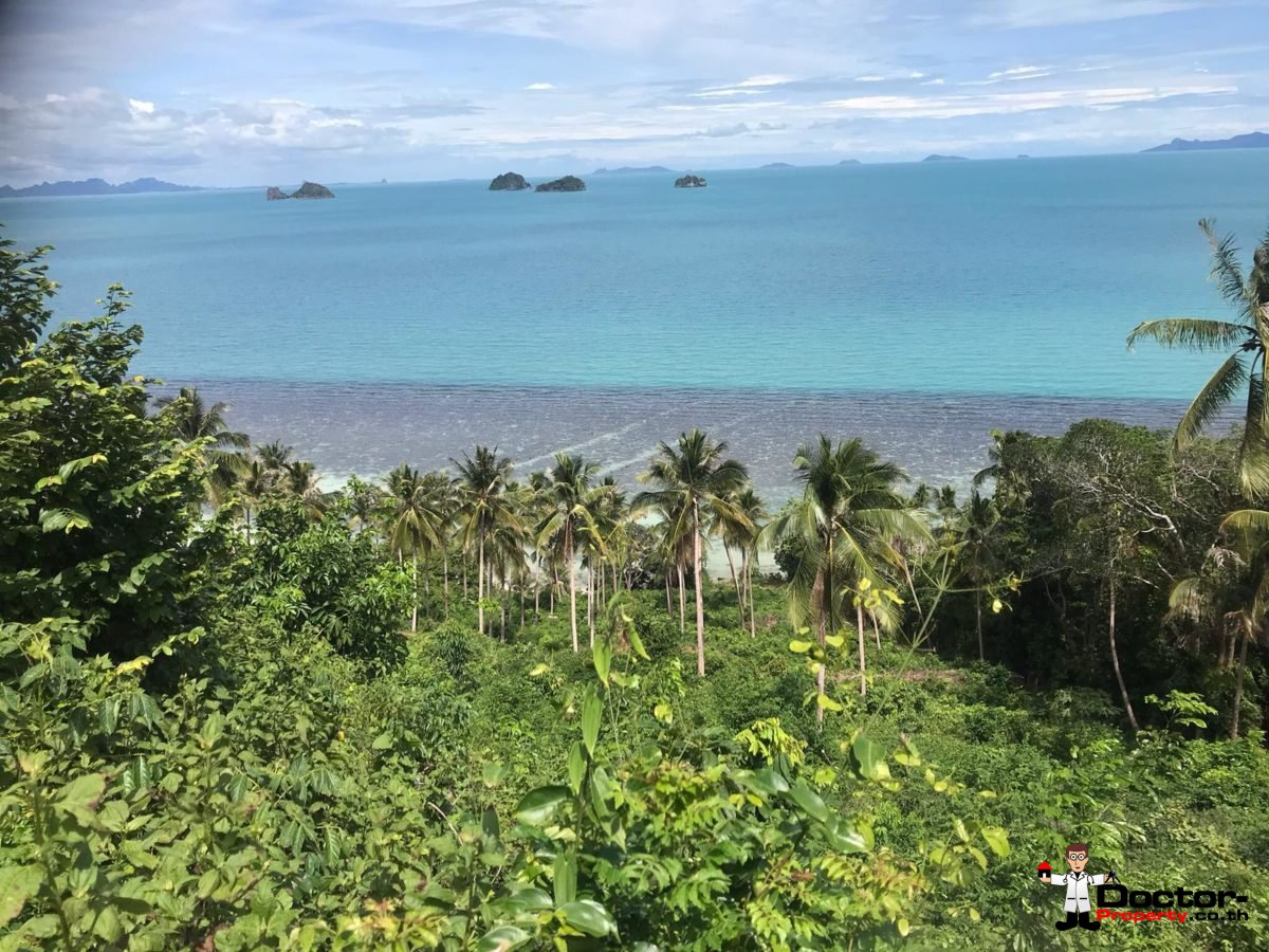 4 Rai Beachfront Land - Taling Ngam - Koh Samui - for sale