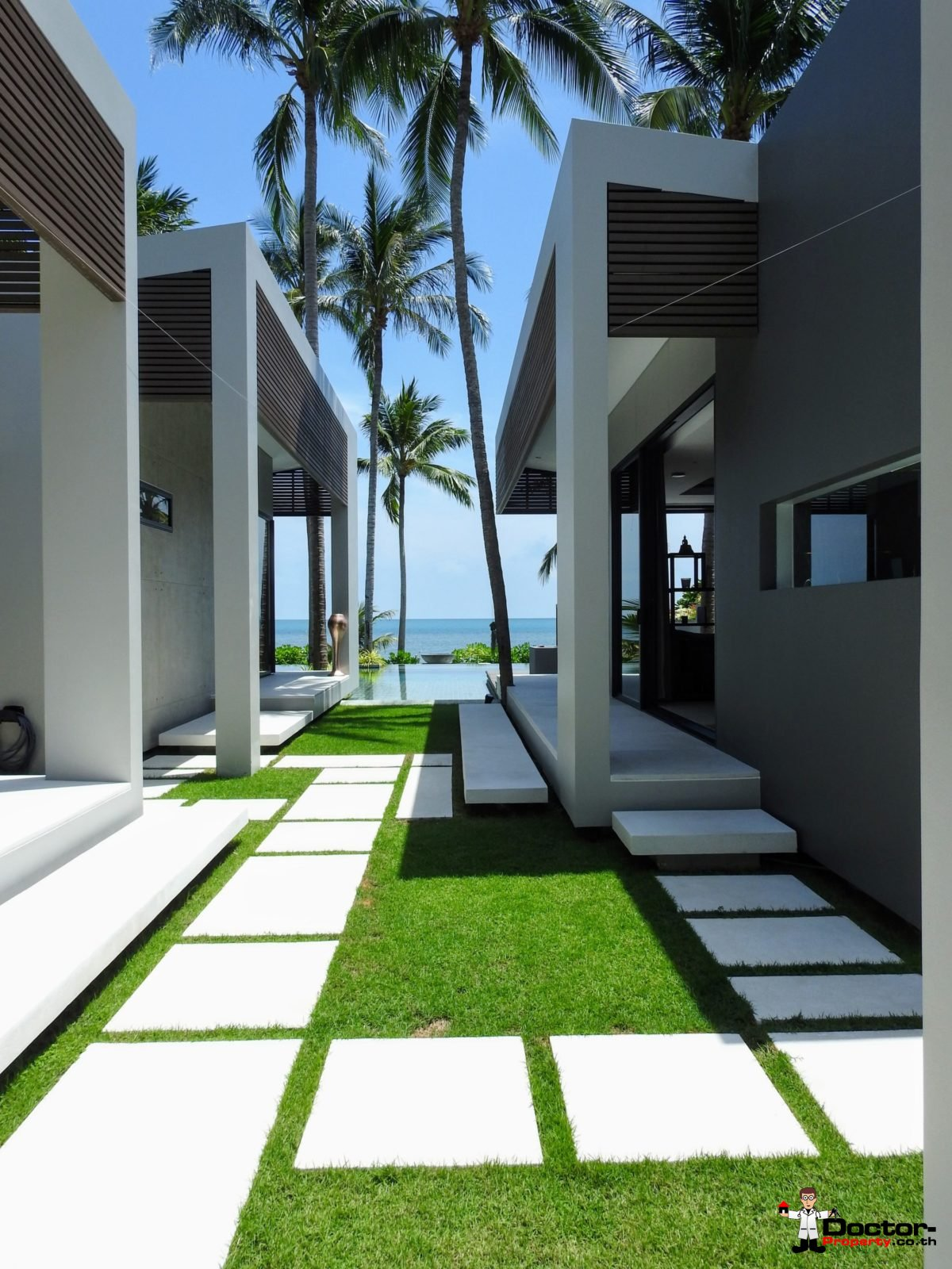 Beachfront Luxury 3 Bedroom Villa in Bang Por - Koh Samui - for sale 20