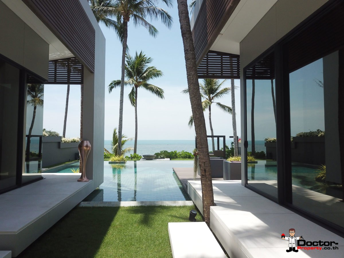 Beachfront Luxury 3 Bedroom Villa in Bang Por - Koh Samui - for sale 21
