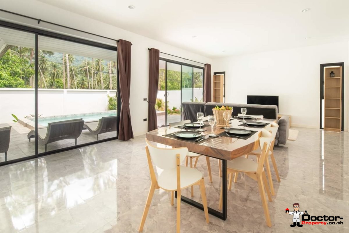 New 3 Bedroom Pool Villa - Lamai -Koh Samui - for sale 5