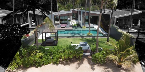 Beachfront Luxury 3 Bedroom Villa in Bang Por - Koh Samui - for sale 12