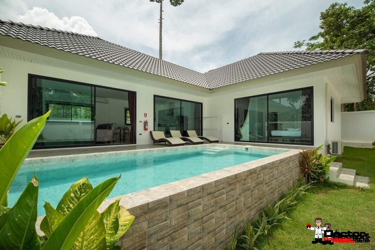 New 3 Bedroom Pool Villa - Lamai -Koh Samui - for sale