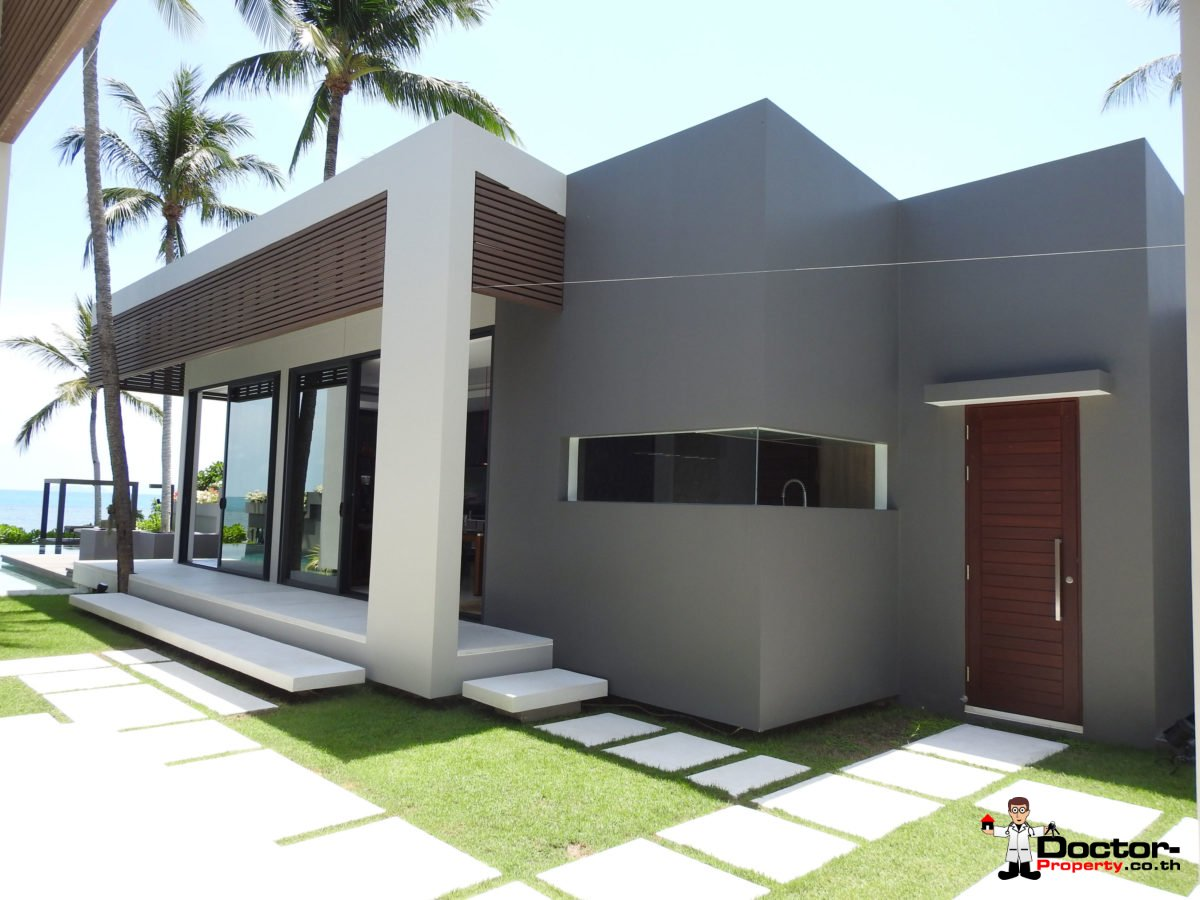 Beachfront Luxury 3 Bedroom Villa in Bang Por - Koh Samui - for sale 13