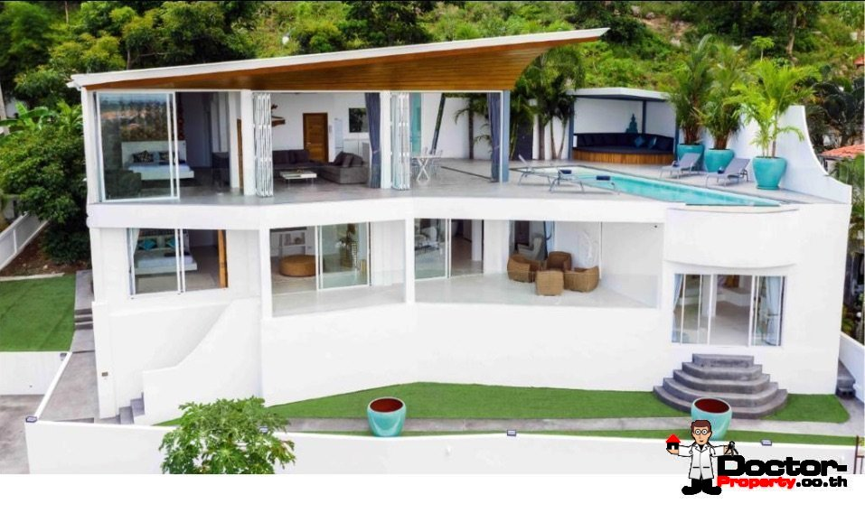 4_Bedroom_Villa_with_Sea_View_Bophut_Koh_Samui_for_sale