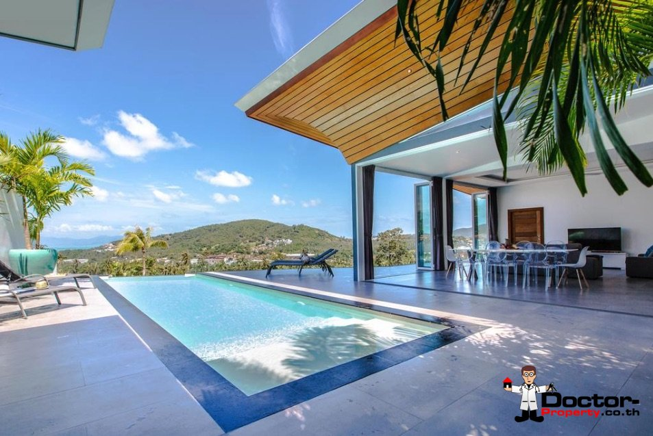 4_Bedroom_Villa_with_Sea_View_Bophut_Koh_Samui_for_sale_6