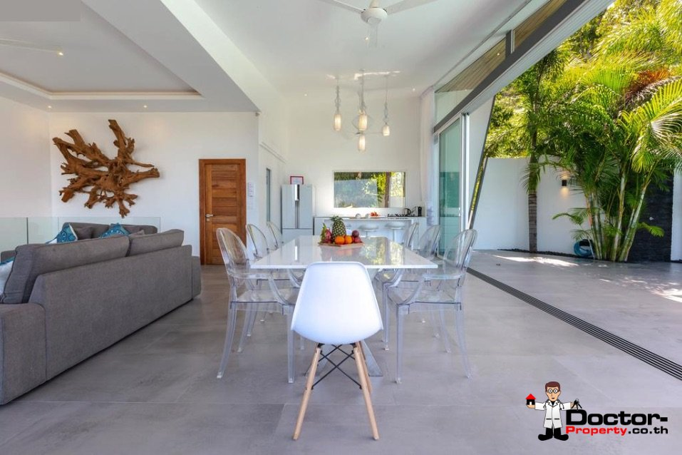 4_Bedroom_Villa_with_Sea_View_Bophut_Koh_Samui_for_sale_8