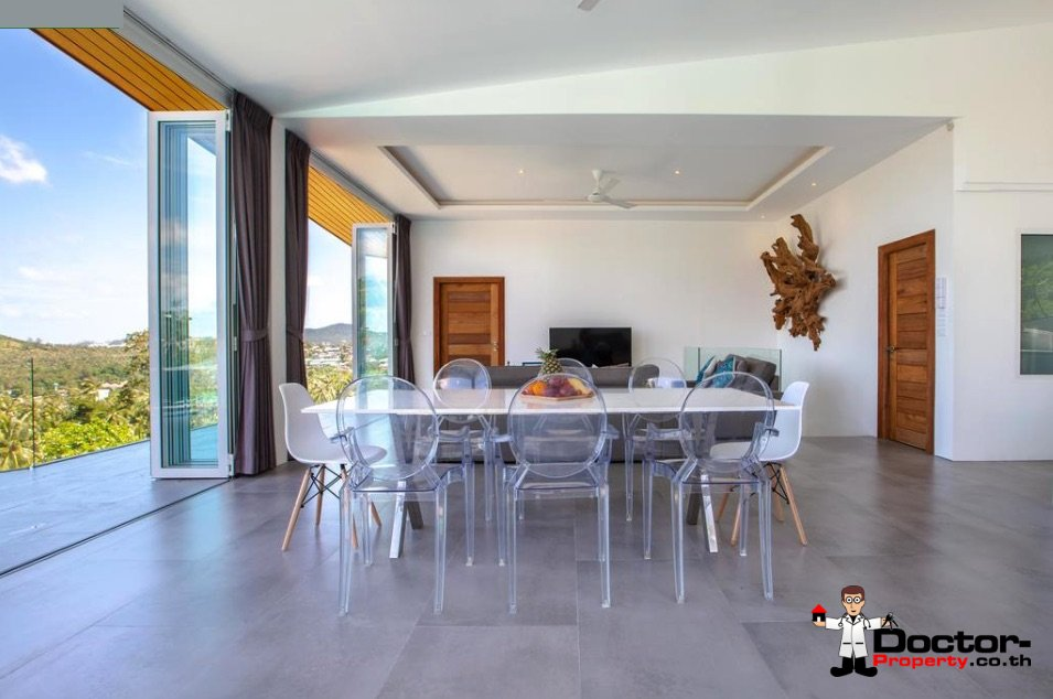 4_Bedroom_Villa_with_Sea_View_Bophut_Koh_Samui_for_sale_9