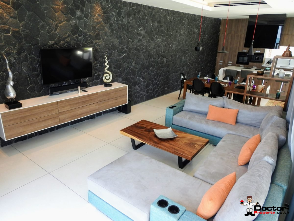Beachfront Luxury 3 Bedroom Villa in Bang Por - Koh Samui - for sale 17