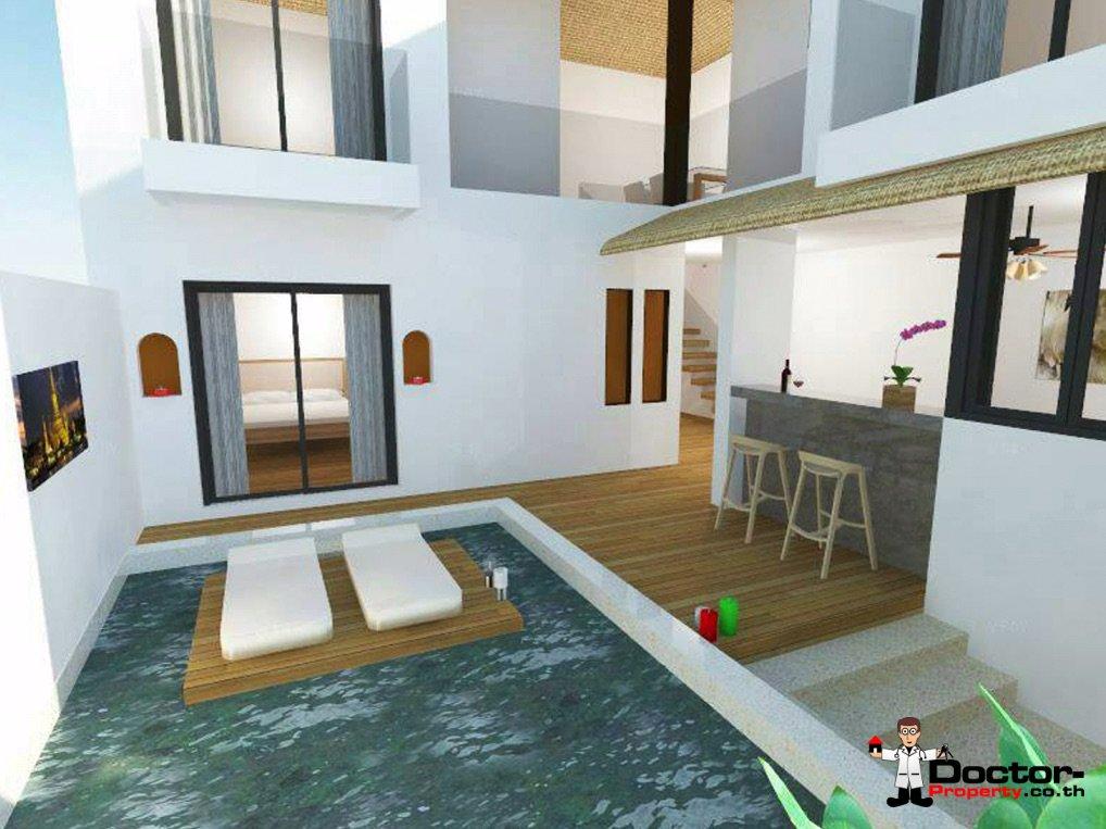 New 2 Bedroom Villa with Sea View - Lamai Beach - Koh Samui 5