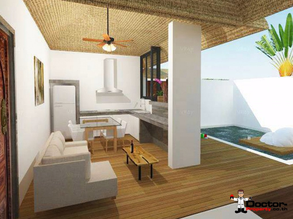 New 2 Bedroom Villa with Sea View - Lamai Beach - Koh Samui 7