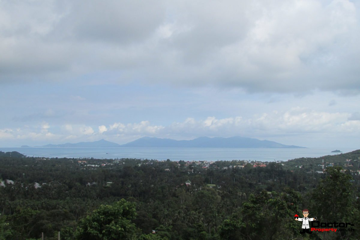Stunning 1 Rai Bophut Hills - Koh Samui - Sea View Land for sale 2