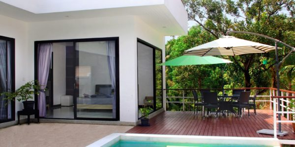 3 Bedroom Pool Villa - Bang Rak, Koh Samui - For Sale