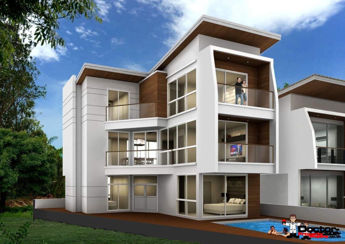 New 4 Bedroom Villa with Sea View - Choeng Mon - Koh Samui