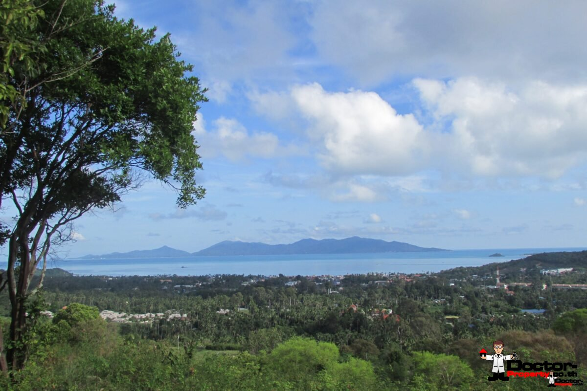 Stunning 1 Rai Bophut Hills - Koh Samui - Sea View Land for sale 1