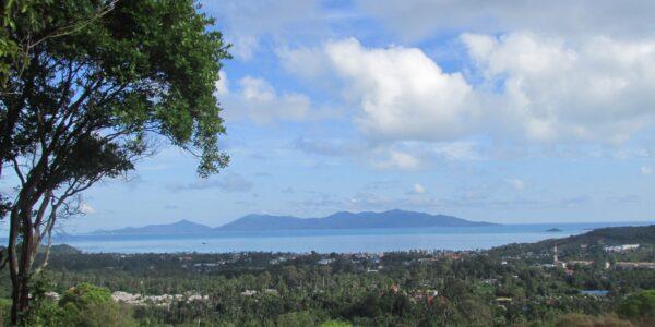 Stunning 1 Rai Bophut Hills - Koh Samui - Sea View Land for sale 1