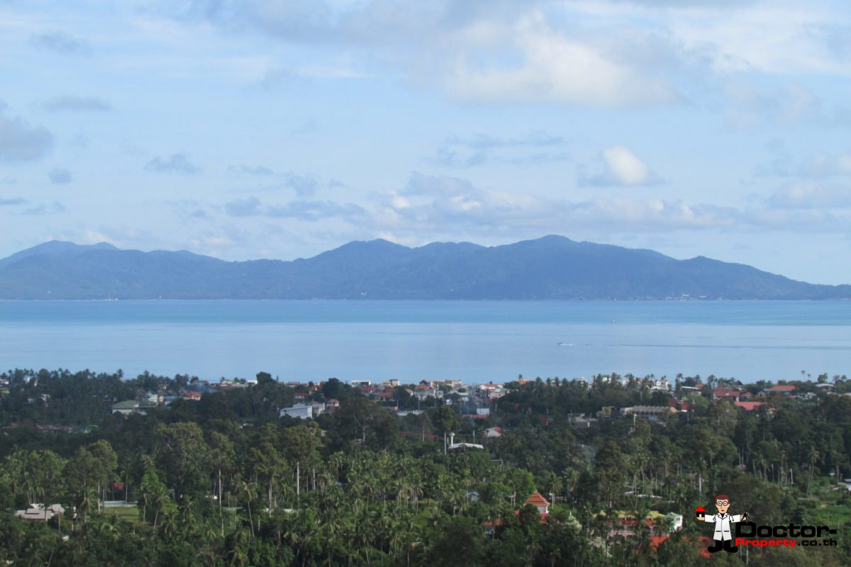 Stunning 1 Rai Bophut Hills - Koh Samui - Sea View Land for sale