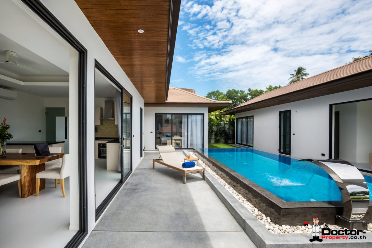 3 Bedroom Pool Villa - Choeng Mon, Koh Samui - For Sale3 Bedroom Pool Villa - Choeng Mon, Koh Samui - For Sale
