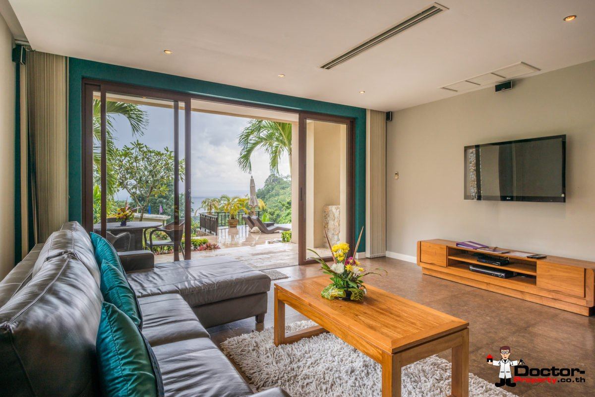 2 Bedroom Seaview Apartment - Chaweng - Koh Samui - For Sale