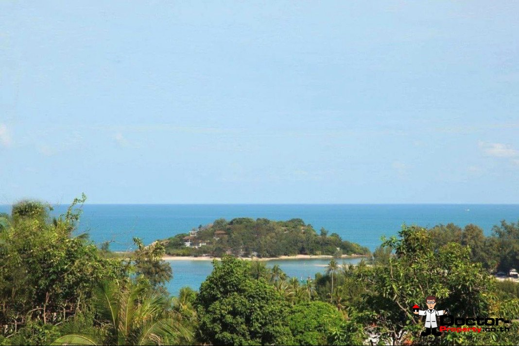New 4 Bedroom Villa with Sea View - Choeng Mon - Koh Samui 1