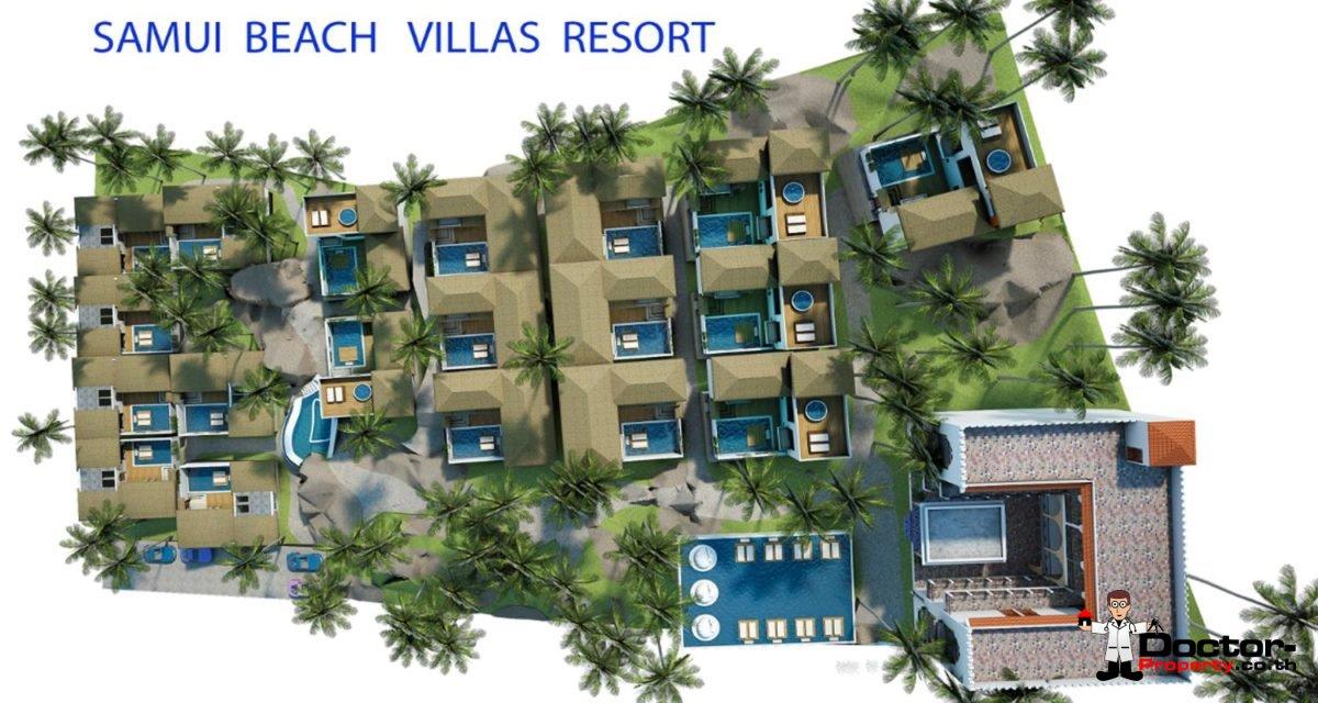 New 2 Bedroom Villa with Sea View - Lamai Beach - Koh Samui 10