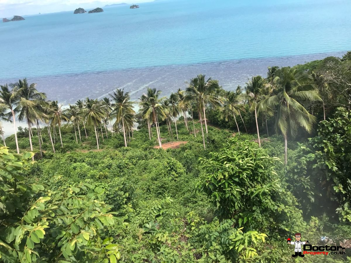4 Rai Beachfront Land - Taling Ngam - Koh Samui - for sale 6